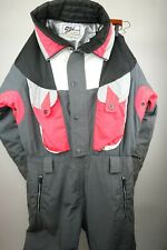 Vintage OSSI Skiwear Ski Snowboard One Piece Suit Coverall Men Size Large