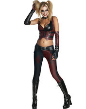 Harley Quinn Arkham City Batman Large 12 – 14 Ladies Costume
