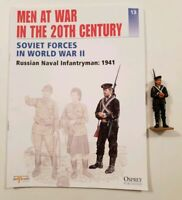 Del Prado Men at War in the 20th Century Issue 13 Russian Naval Infantryman