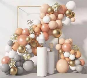 129pc Pastel Rose Balloon Arch Kit Garland Birthday Wedding Party DIY Decoration