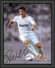 CRISTIANO RONALDO REAL MADRID  A4 SIGNED AUTOGRAPHED PHOTO POSTER FREE POST