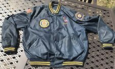 Vtge. American Legion Color Guard Connecticut Jacket BIRDIE Richard Leslie Sz XL