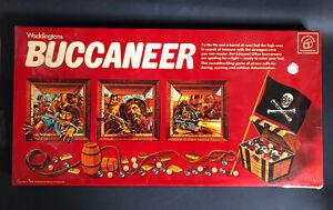 CHOOSE PARTS/SPARES Vintage Waddingtons BUCCANEER Game Replacements 1975 1976