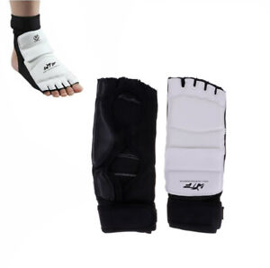 Training Protector Taekwondo Hand Foot Guard Instep Martial Arts Sparring XS