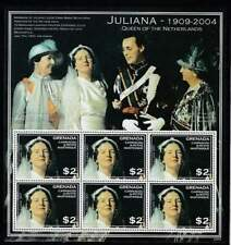 Grenada postfris 2004 MNH sheet - Koningin Juliana (XL135)