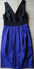 DIANNA FERRARI Stunning Black & Blue Dress  Size 10