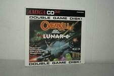 OVERKILL & LUNAR C GIOCO USATO AMIGA CD 32 EDIZIONE ITALIANA FR1 52582
