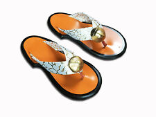 Traditional Women's Sandals Ghanaian Handmade Leather Slippers Women's Shoe
