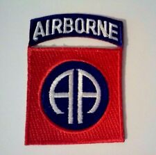 """82nd Airborne Patch and Airborne Tab together     3"""" x 2"""""""
