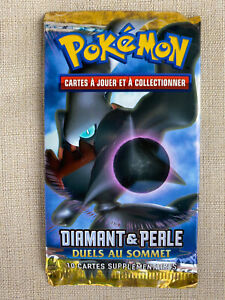 Pokemon Sealed Vintage Booster Pack - Diamond and Pearl Great Encounters FRENCH