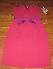 Ungaro Fuchsia Women's Dress Empire Cocktail Formal  Pink Size 8 329.00 RET. New