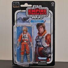 Star Wars The Black Series- Luke Skywalker (Snowspeeder) 40TH Anniversary Figure