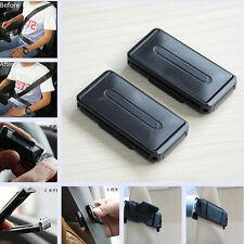 2 Pcs Car Suv Seat Belt Clips Strap Clamp Adjusters Comfort Support Safety Clip