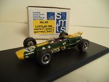 SMTS LOTUS 38 CLARK   1/43RD SCALE  IN BOX