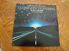 Close Encounters Of The Third Kind - 1977 Lp Soundtrack John Williams Excellent