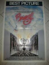"BRAZIL 1985 Original 27x41"" US One Sheet Movie Poster Johnathan Pryce T Gilliam"