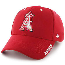 official photos fdcfe 3ca81 MLB Los Angeles Angels 47 BRAND Condenser Adjustable Cap One Size Red