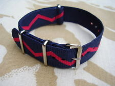 British Army Royal Artillery RA Regimental Colours G10 NATO Military Watch Strap