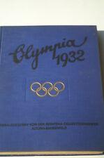 Ein sehr seltenes Olympia Buch von 1932!