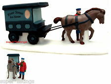 Dept. 56 River Street Ice House Cart Retired 1991 Christmas in the City 59595
