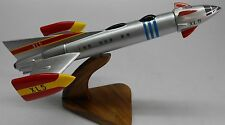 Fireball XL-5 Anderson XL5 Airplane Mahogany Kiln Dry Wood Model Large New