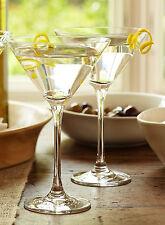 Set di 2 contemporaneo chiaro Lustre Cocktail Martini Margarita bicchieri VINO BAR