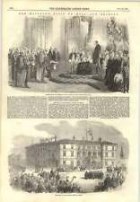 1854 Royal Visit To Hull And Grimsby Station Hotel