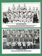 FOOTBALL - SET OF 19 FOOTBALL TEAM POSTCARDS - PORTSMOUTH F.C.  1907 TO 1969