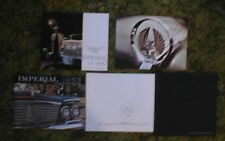 1960-1975 Chrysler Imperial Brochure 13 pieces 62 63 64