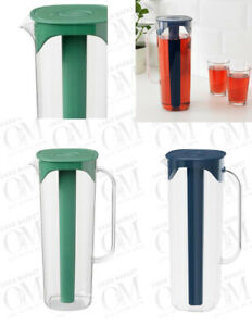 IKEA MOPPA Jug with Non drip lid Water,Juice,Cocktail transparent Pitcher 1.7L