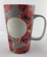 Starbucks Coffee Mug Red Poppies Dot Collection 2015 Tall 16 Oz Poppy  Mug