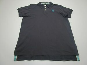 NEW Abercrombie & Fitch Polo Shirt Adult Extra Large Gray Moose Muscle Preppy