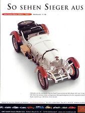 CMC pubblicitario pagina... MERCEDES-BENZ SSKL, 1931 in 1-18... GIORNALE visualizzazione