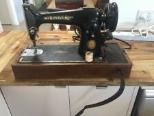 Singer 201k Sewing Machine. Antique Vintage Collectable. Working. Knee Lever.