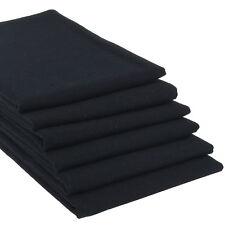 6er Set hochwertige Geschirrtücher Schwarz Küchen-Handtuch Trockentuch Küche