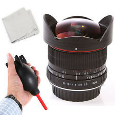 Super Wide 8mm f/3.5 Fisheye Lens for Canon 70D 80D 60D 77D 800D 700D 100D 760D