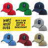 DECKY 402 MENS CLASSIC HAT FITTED HATS PRE-CURVED BILL BASEBALL CAP BOYS CAPS
