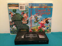 Fun and fancy free / Coquin de printemps  Vhs tape & clamshell case FRENCH