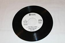 Bobby Bland and  B.B. KING 45 Promo -THE THRILL IS GONE STEREO/MONO
