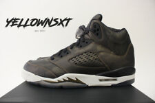 AIR JORDAN 5 RETRO V METALLIC CAMO HEIRESS GS SZ 5.5 Y BRONZE 919710 030