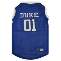 Duke Blue Devils NCAA Pets First Dog Pet Basketball Tank Jersey Sizes XS-XXL
