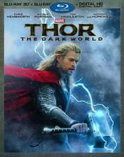 Thor: The Dark World (2-Disc 3D Blu-ray + Blu-ray + Digital HD), New DVDs