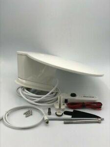 Caravan / Motorhome - Maxview - White -  Gazelle PRO 360° TV,FM,DAB Aerial -B241