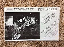 Jello Biafra Gig Flyer 1988 Sonoma