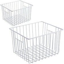 iPegtop Deep Refrigerator Freezer Baskets, Large Household Wire Storage Basket
