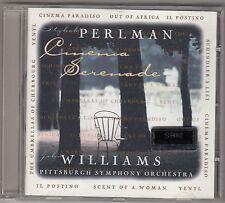 ITZHAK PERLMAN PITTSBURGH SYMPHONY ORCHESTRA - cinema serenade CD
