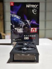 SAPPHIRE Nitro + Radeon RX 580 4GB Graphics Card Excellent Condition GPU