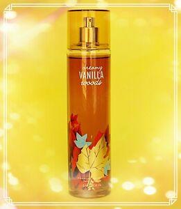 Bath & Body Works DREAMY VANILLA WOODS Fine Fragrance MIST 8 OZ/236mL NEW
