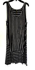 XCVI Sleeveless Striped Tunic -NWOT- Size S