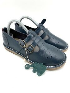 pod heritage Marley Blue Leather Buckle Strap Shoes Uk 5 38